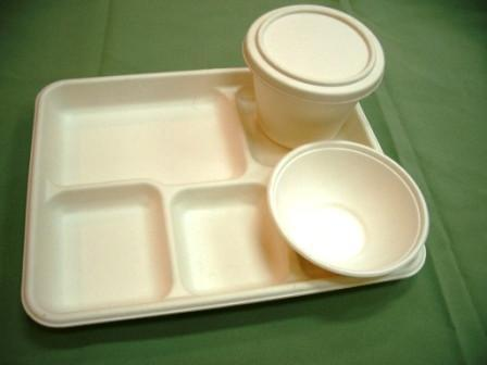 Biodegradable fibre food tray/meat tray 3