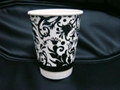 disposable paper coffee cup double wall paper cup 2