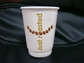 disposable paper coffee cup double wall paper cup 3