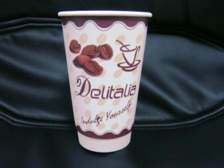 disposable paper coffee cup double wall paper cup 5