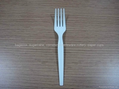 biodegradable PLA cutlery