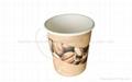 PLA liner paper cup