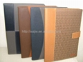 2011 leather note book 1
