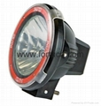 "3700 4"" 7"" 9'' Hid Off road Light,clear cover ,red ring ,spot beam flood beam (Hot Product - 1*)"