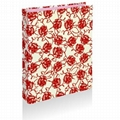 Ring Binder With Flocking Cover