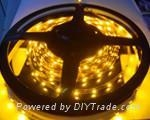 SMD 5050 LED flexible strips yellow color