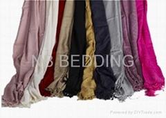 Bamboo fibre scarf