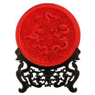 北京雕漆藝朮品 1