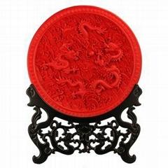 北京雕漆藝朮品