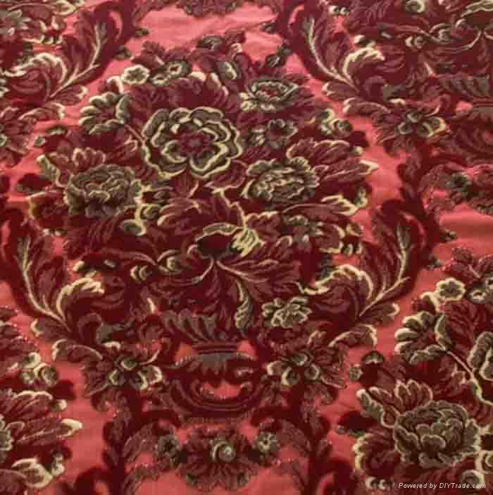 Cut Velvet Fabric Gr003 Jialun China Trading Company