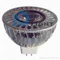 non dimmable MR16 1*3w spotlight