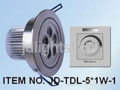 triac dimmable downlight 5W