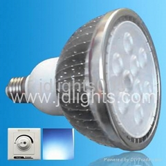 dimmable par38 18w spot light