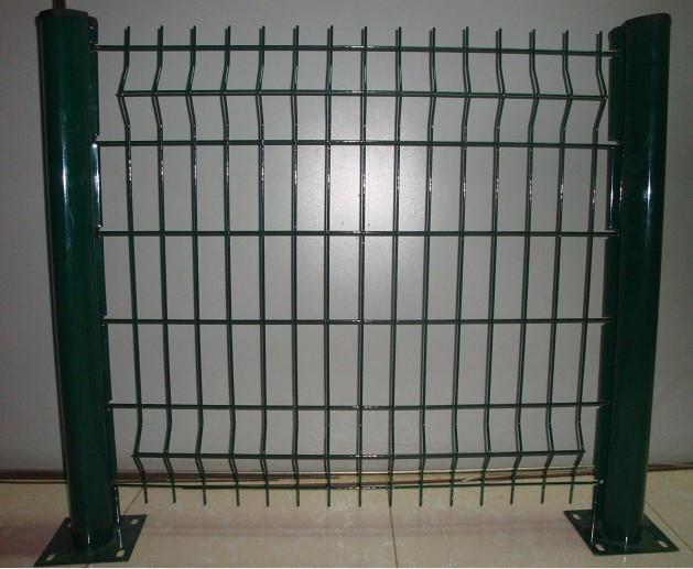 Welded and woven mesh wire fence fencing