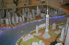 宣城规划模型制作