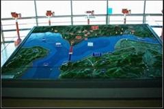 池州地形地貌模型制作