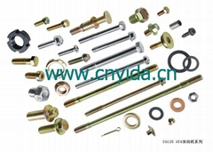 Fastener, Bolt, Nut, Screw, Stud, Axle, Pin, Washer and Sir-clip