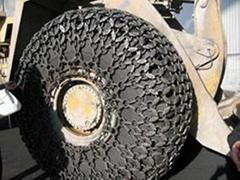 各种工程机械优质轮胎保护链,配件,防滑链