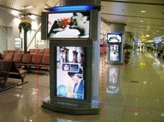 北京首都機場廣告數碼刷屏機媒體