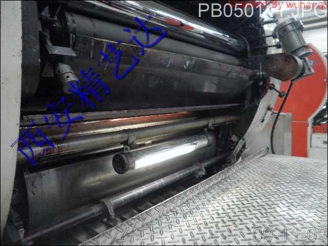 印刷机滚筒在机维修环保电刷镀快速修复 2