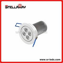 4*3W LED天花灯