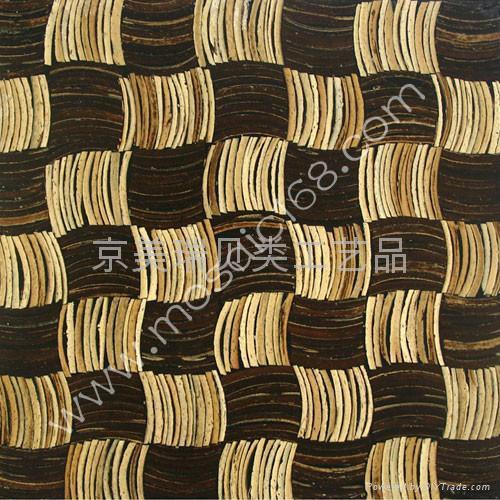 椰壳墙面板   4