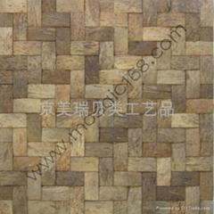 coconut mosaic   椰壳板   椰壳马赛克