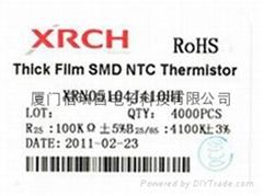片式0805-100K热敏电阻器
