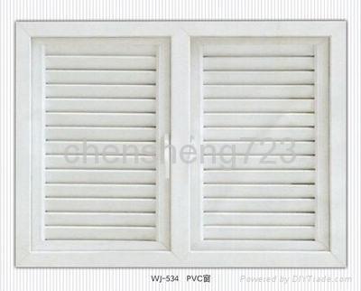 UPVC casement window 1