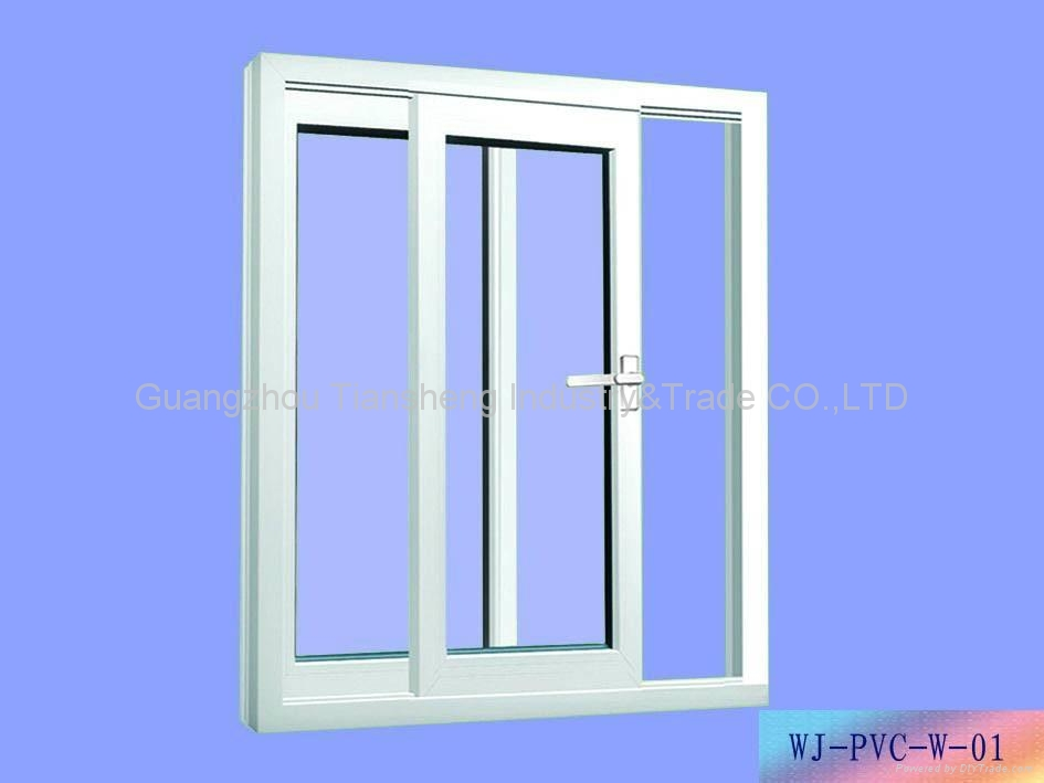 Upvc doors and windows ts 006 tiansheng china for Upvc windows and doors
