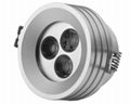 led recessed lamp, down light, spotlight