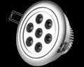 led recessed lamp, down light, spotlight 2