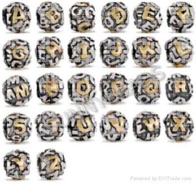 Pandora Initial Beads