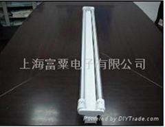 T5发光体+T8外管结构直管荧光灯