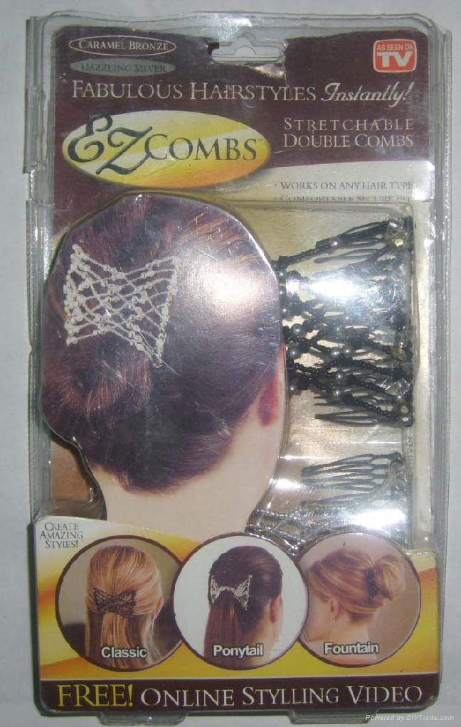 AS SEEN ON TV EZ Combs Hair Clip 1