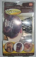 AS SEEN ON TV EZ Combs Hair Clip