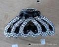 Diamond hair clip