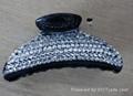 Diamond hair clip 2
