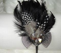 H-00167 fashion charming feather handmade hairband