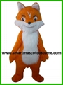 orange fox costume