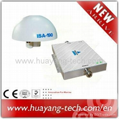 Outdoor antenna for satellite phone