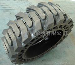铲车用实心轮胎10-16.5