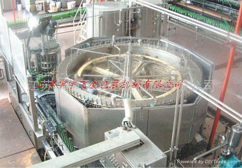 純生啤酒灌裝機 1