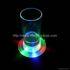 Flashing ice cup