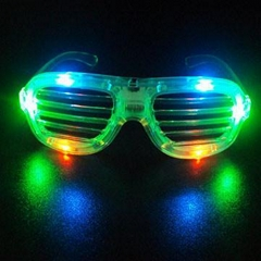 Light Up Sun Glasses with different dady color