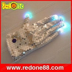 Flashing LED gloves with Multicolor Light