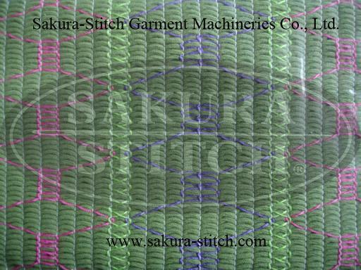 33針鬆緊線縮褶打攬機(無底線)系列  2