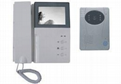 4 INCH  B/W WIRED VIDEO DOORPHONE