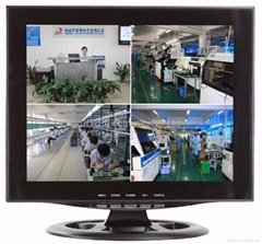 17 INCH CCTV LCD MONITOR ( 4 Channel quads)