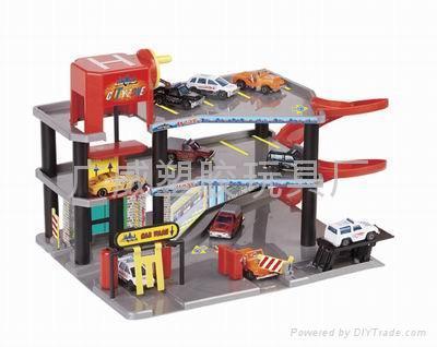 轨道停车场玩具